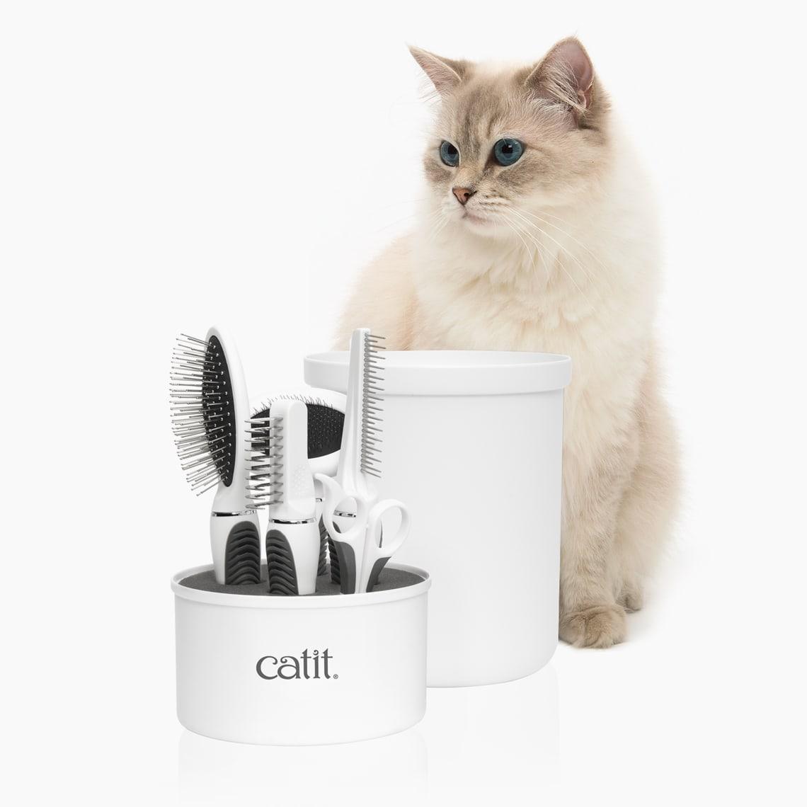 Trousse de toilettage pour chats à poil long