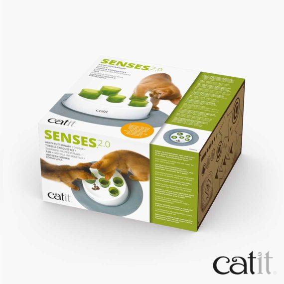 Tubes à croquettes Senses 2.0 Catit - Emballage