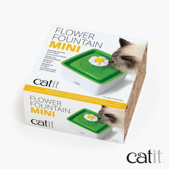 Abreuvoir avec fleur, mini Catit - Emballage