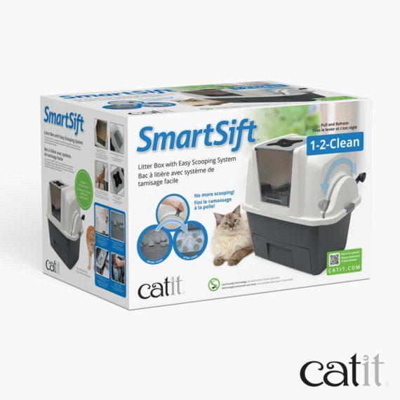 Bac à litière Smartsift Catit - Emballage