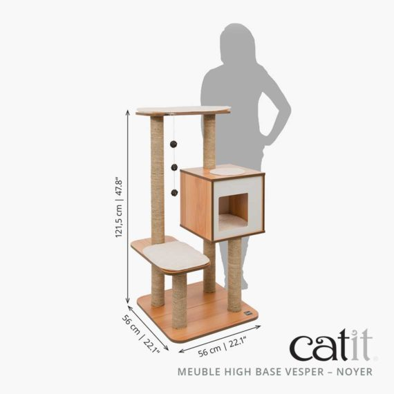 Meuble Vesper High Base Catit - Mesures
