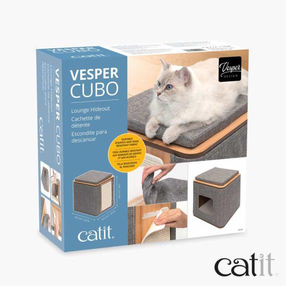 Meuble Cubo Vesper Catit – Emballage