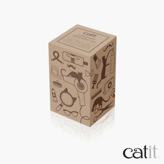 Trousse de toilettage pour chats à poil long Catit - Emballage