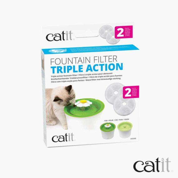 Filtre à triple action Catit - Emballage