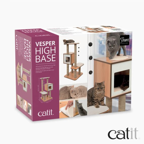 Meuble Vesper High Base Catit - Emballage