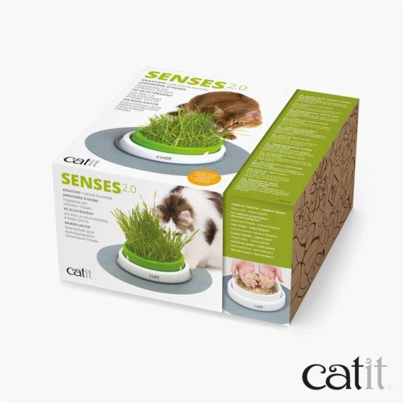 Jardinière d'herbe Senses 2.0 Catit - Emballage