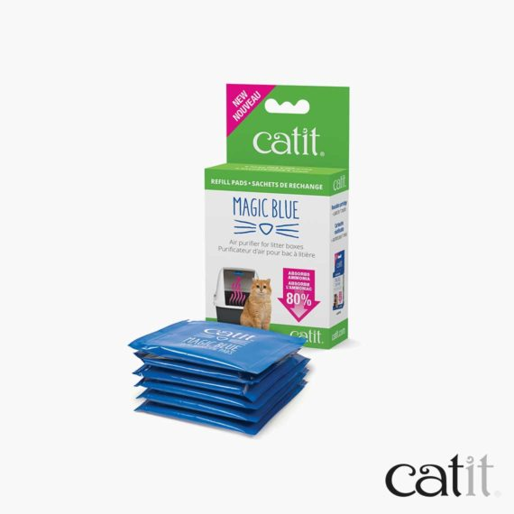 Sachets de rechange Magic Blue Catit - Emballage
