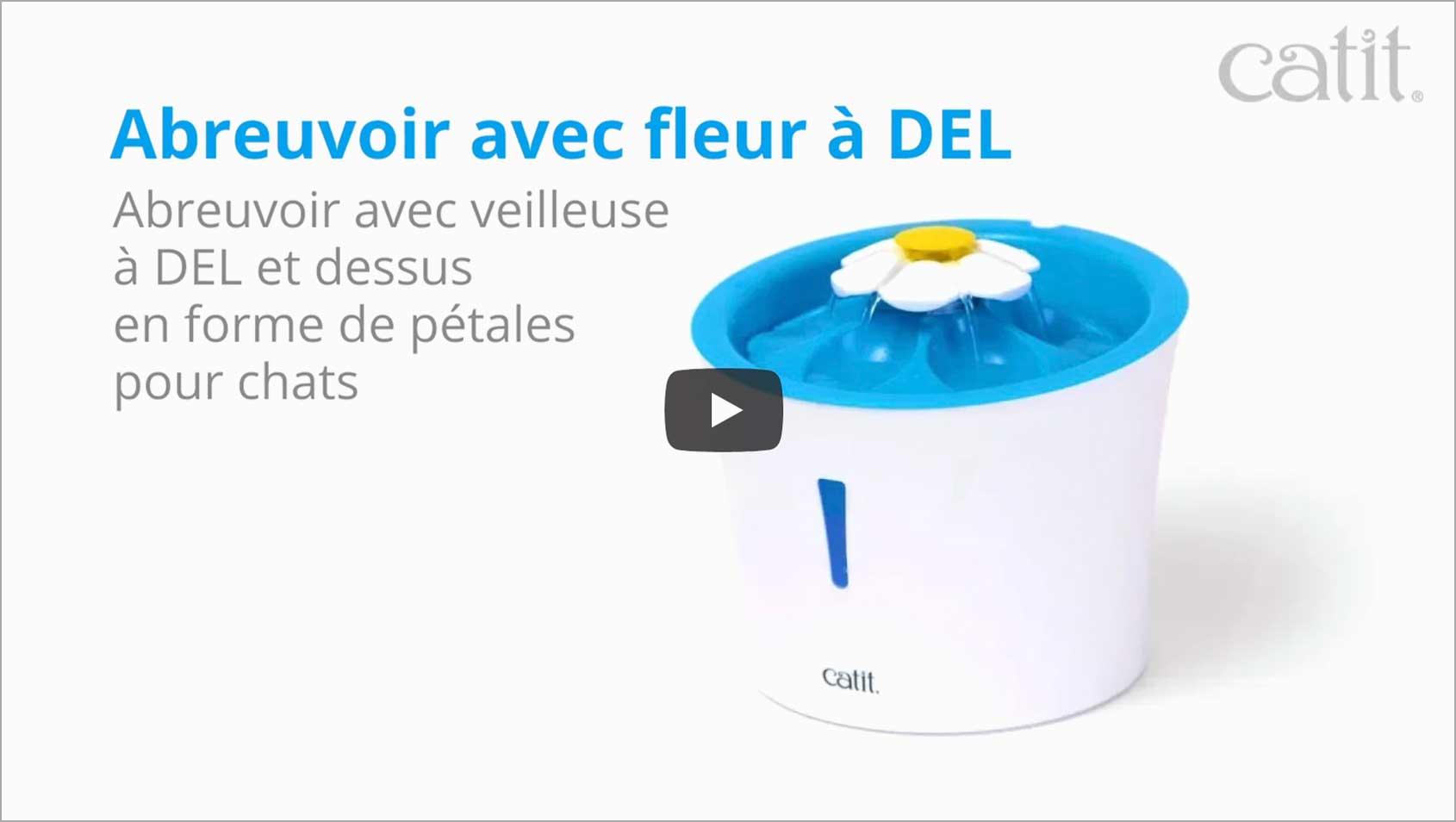 Thumbnail Youtube video LED Flower fountain