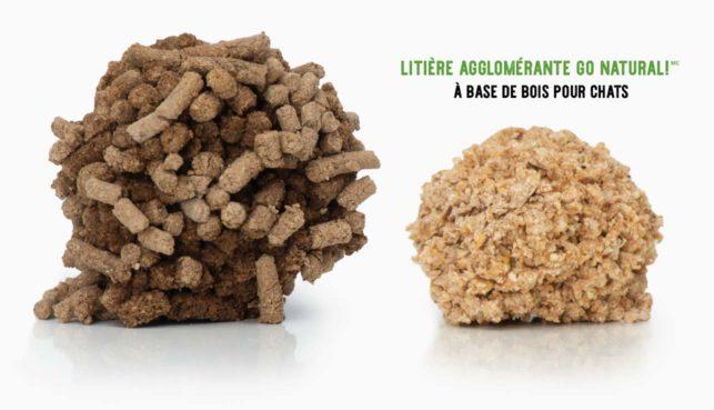 Contrairement à la plupart des litières, la nôtre est transformée en granules puis concassée en plus petits granulés