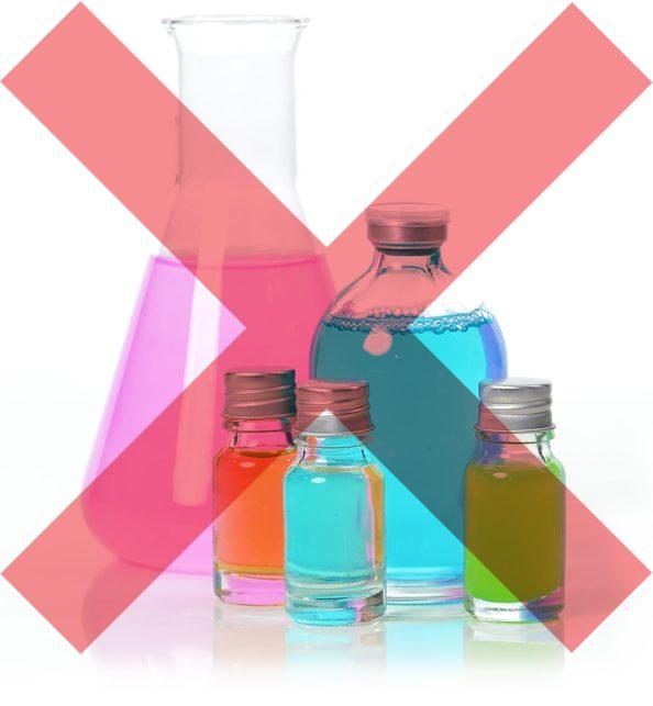 Sans produits chimiques ni parfum