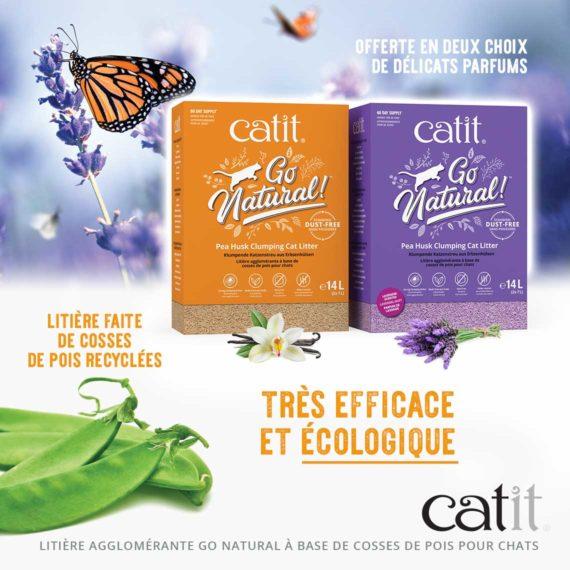 Go Natural Pea Husk - Très efficace et écologique
