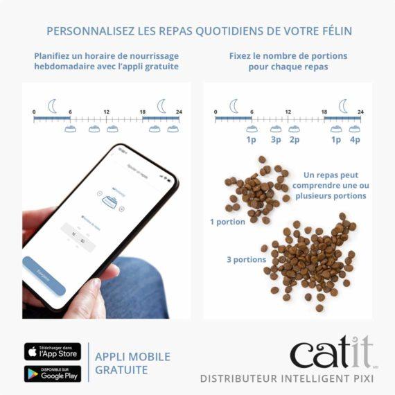 43752_Catit_PIXI Smart Feeder_Panel 3_NA-FR