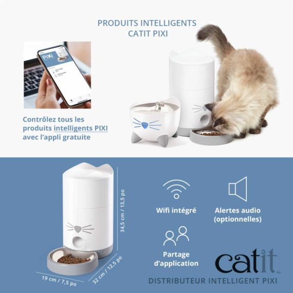 43752_Catit_PIXI Smart Feeder_Panel 6_NA-FR